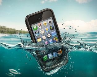 купить Абсолютно водонепроницаемый чехол LifeProof iPhone Case для iPhone 4, 4S Black цена, отзывы