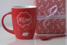 фото 6578  Чашка+ложка Bear цена, отзывы