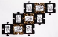 фото 1491  Фоторамки-пазлы (цвета в ассортименте) цена, отзывы