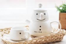 фото 9340  Чайный набор для двоих Снеговик цена, отзывы