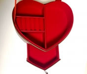 фото 3172  Шкатулка Кожанная сердце цена, отзывы