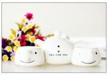 фото 9338  Чайный набор для двоих Снеговик цена, отзывы