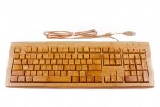 фото 8148  Клавиатура бамбуковая русифицированная цена, отзывы