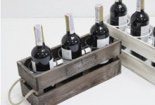 фото 7071  Подставка для вина ящик на 3 бутылки цена, отзывы