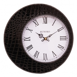 купить Настенные часы Eclipse черные цена, отзывы