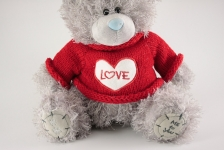 фото 3160  Мишка Тедди Love 20см цена, отзывы