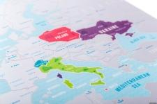 фото 8961  Скретч карта Европы Travel Maps Silver цена, отзывы