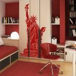 фото 5819  Наклейка на Стену Statue of Liberty цена, отзывы