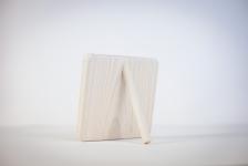 фото 7525  Фоторамка Coquelicot квадратная маленькая белая цена, отзывы