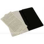 фото 6121  3 блокнота Moleskine Cahier маленьких черных цена, отзывы