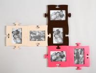 фото 1494  Фоторамки-пазлы (цвета в ассортименте) цена, отзывы