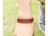 фото 9389  Антический кожаный браслет Anthony цена, отзывы