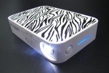 фото 8171  Универсальная батарея AUZER AP12000 zebra  цена, отзывы