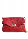 фото 7511  Женская кожаная сумка Lillian цена, отзывы