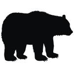 фото 3544  Наклейка Медведь бол цена, отзывы