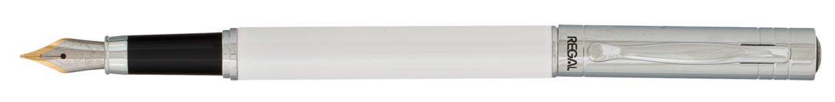 фото 10325  Набор ручек в подарочном футляре Фемида белый цена, отзывы
