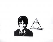 фото 10014  Держатель для книг Гарри Поттер и дары смерти цена, отзывы