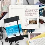 фото 6011  Блокнот Moleskine Passion Travel Journal средний черный цена, отзывы