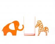 фото 9949  Держатель для книг Слон и зебра цена, отзывы