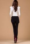 фото 4300  Леггинсы утепленные с шортами черные цена, отзывы