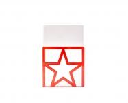 фото 9851  Держатель для книг Звезда красная цена, отзывы