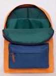 фото 8093  Рюкзак GiN Bronx оранжевый с карманом неви цена, отзывы