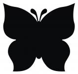 фото 3461  Наклейка Бабочка цена, отзывы