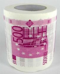 купить Туалетная бумага 500 ЕВРО цена, отзывы