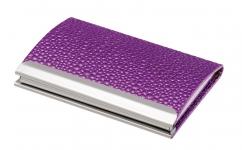 фото 10413  Подарочный набор ручка и визитница Геспер фиолетовый цена, отзывы