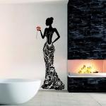 фото 5830  Наклейка Декоративная Lady цена, отзывы