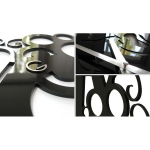 фото 5657  Дизайнерские настенные часы Camomile цена, отзывы