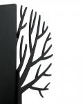 фото 10073  Держатель для книг Зимнее дерево черное цена, отзывы