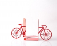 фото 9943  Держатель для книг My red bike цена, отзывы
