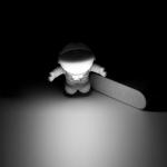фото 13117  Светильник для ноутбука Космонавт  цена, отзывы