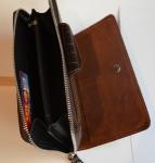 фото 1534  Кожаный клатч мужской ручной m012 цена, отзывы