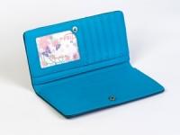 фото 8813  Женский кошелек Кейсис (синий-красный) цена, отзывы