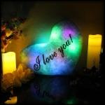 фото 7146  Светящаяся Подушка  Сердце I love You цена, отзывы