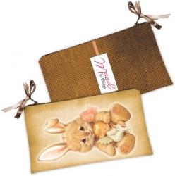 купить Косметичка-кошелек Зайка и ребенок цена, отзывы