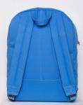 фото 8080  Рюкзак GiN Bronx голубой с оранжевым карманом цена, отзывы
