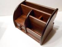 фото 2312  Подставка органайзер для канцелярии Деревянная Тумба цена, отзывы