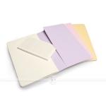 фото 6062  3 блокнота Moleskine Cahier пастельных чистых цена, отзывы