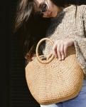 фото 25623  Соломенная сумка с ручками Сен-Лоран цена, отзывы