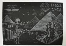 фото 9818  Скретч картина Египет ночью цена, отзывы
