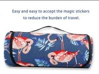 фото 24909  Коврик для пикника Фламинго синий цена, отзывы