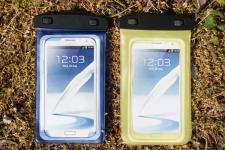 фото 3575  Водонепроницаемый чехол для телефона Синий цена, отзывы