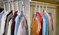фото 1695  Набор 2 универсальных «ЧУДО-ВЕШАЛОК» (Wonder Hangers)  цена, отзывы