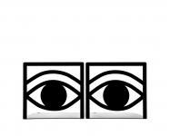 фото 9847  Держатель для книг Глаз цена, отзывы