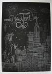 фото 9815  Скретч картина Нью-Йорк ночью цена, отзывы