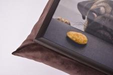 фото 10153  Поднос на подушке Мопс цена, отзывы