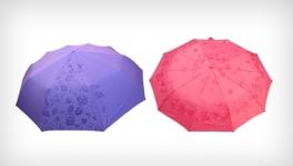 фото 3551  Зонт меняющий цвет малиновый цена, отзывы